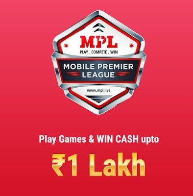 WIN REAL CASH ON MPL PRO ( MOBILE PREMIER LEAGUE)