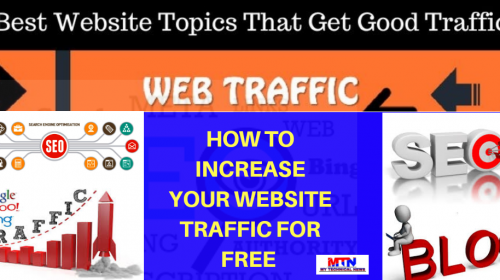 how to increase your website traffic for free