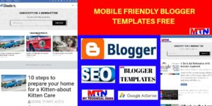 (2020 Updated) Mobile Friendly blogger template free download