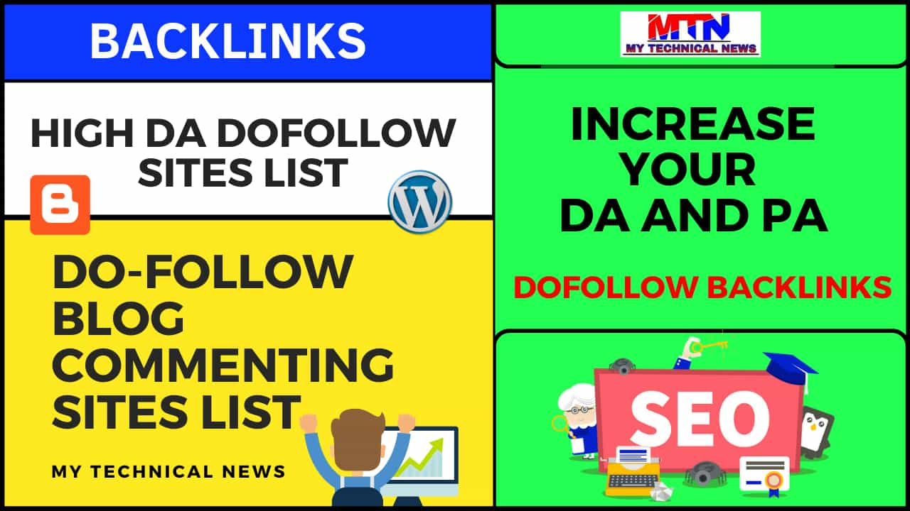 Do Follow Blog Commenting Sites List 2020-21.