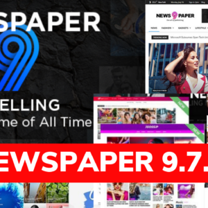 Newspaper: Blog/Magazine Theme 9.8 Latest Update