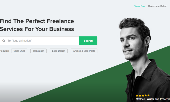 Fiverr-The Perfect Freelance Services For Your Business