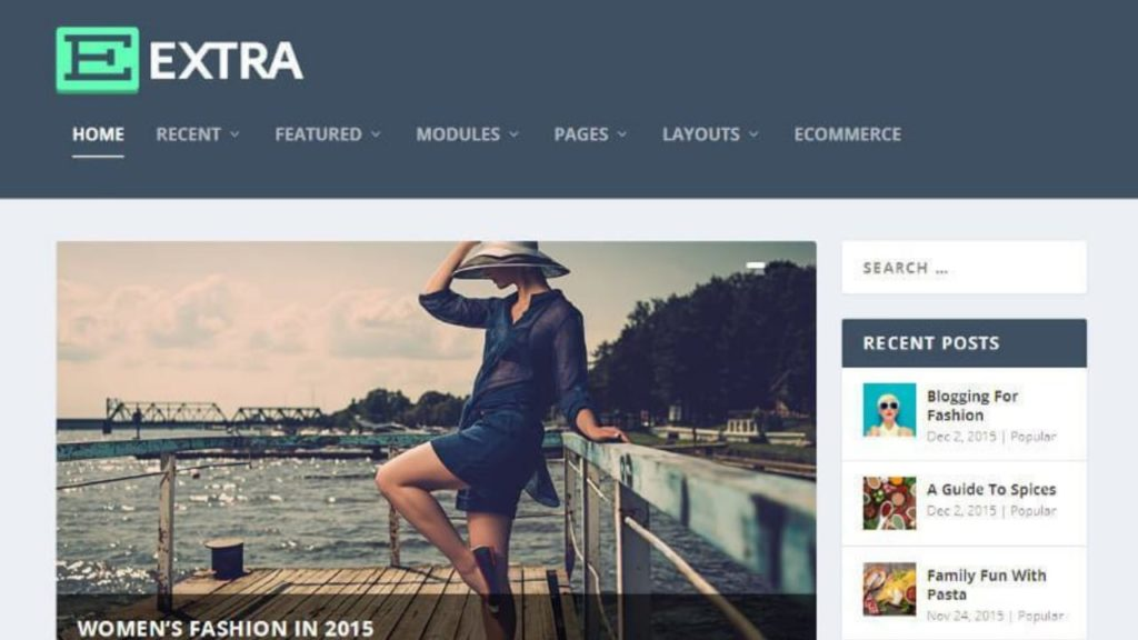 Extra- The Ultimate Magazine WordPress Theme And Visual Page Builder