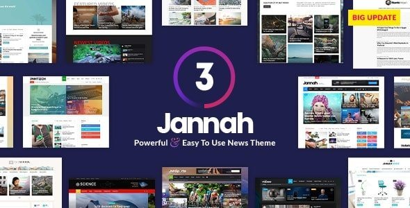 Jannah News - Newspaper Magazine AMP BuddyPress
