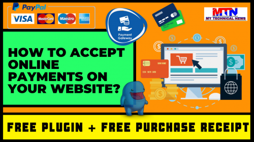 Easy Way To Accept Online Payments On Your Website In Just A Few Minutes.
