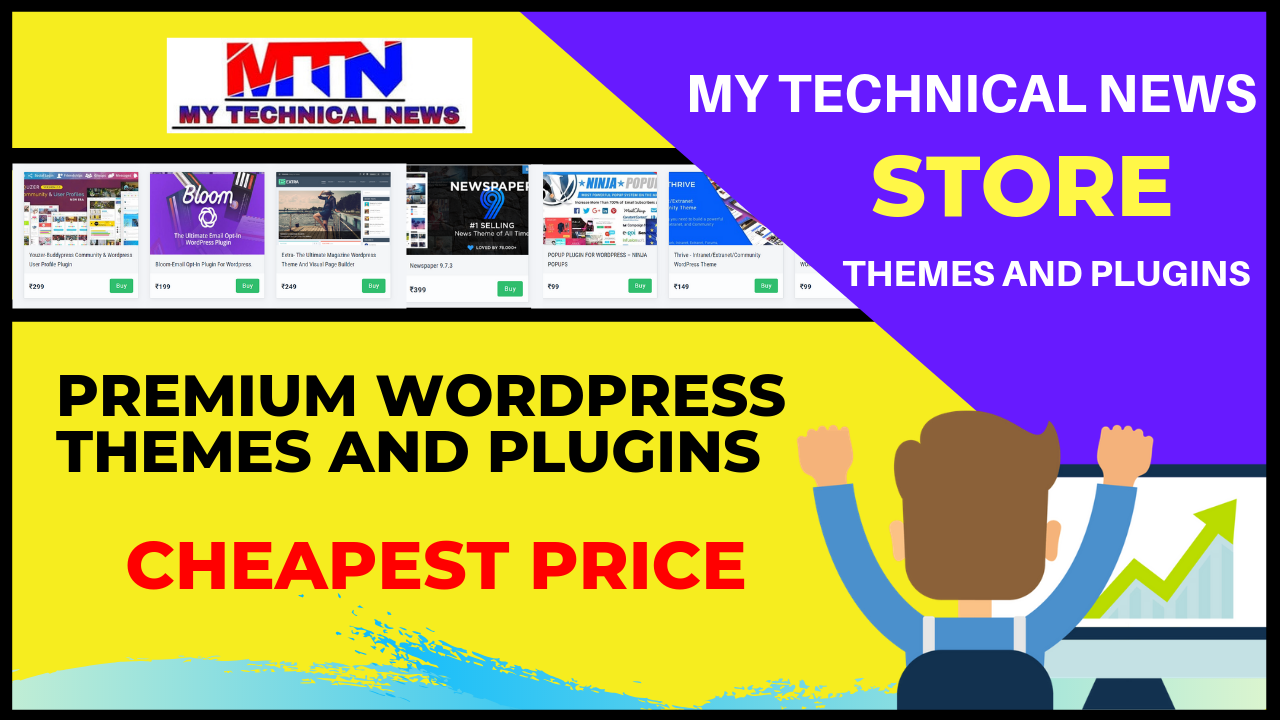 Premium WordPress Themes And Plugins At Cheapest Price