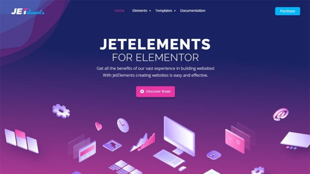 JetElements – Widgets Addon for Elementor Page Builder