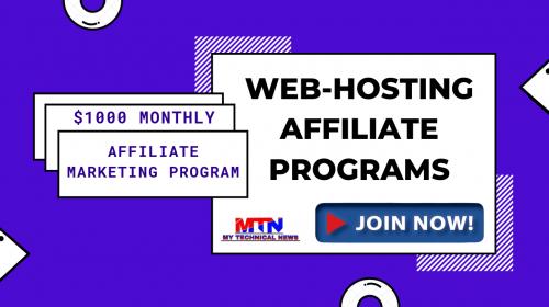 Top Best Web Hosting Affiliate Program In 2020