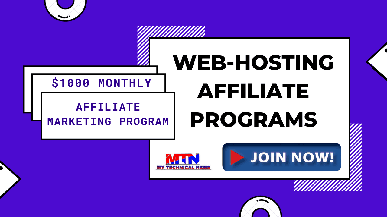 Top Best Web-Hosting Affiliate Programs In 2020