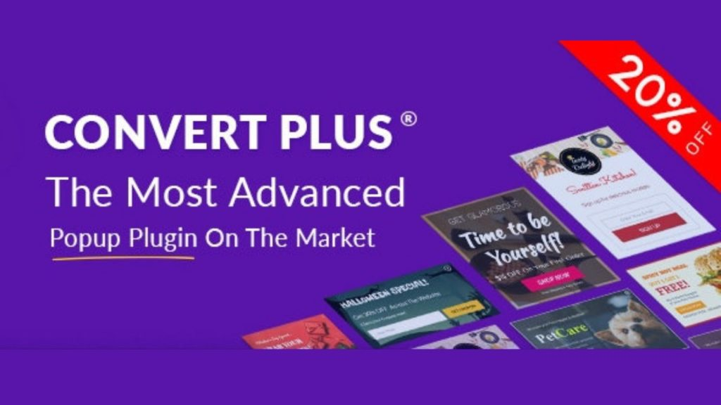 Popup Plugin For WordPress – ConvertPlus