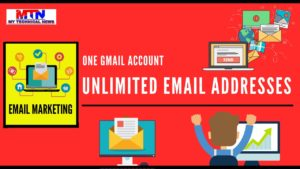 How To Get Unlimited Email Addresses From One Gmail Account.