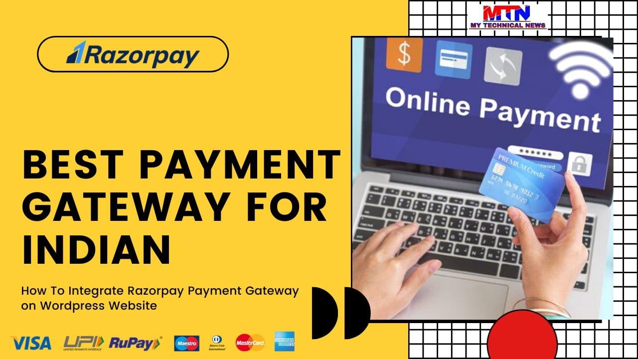 Easy Integrate Razorpay Payment Gateway On WordPress Site (2020 Method)