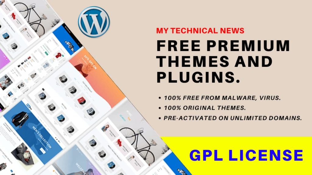 How To Get WordPress Premium Themes And Plugins For Free