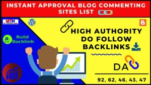 (2020 Updated) High-Quality Do-Follow Backlinks From High Authority Website Instant Approval