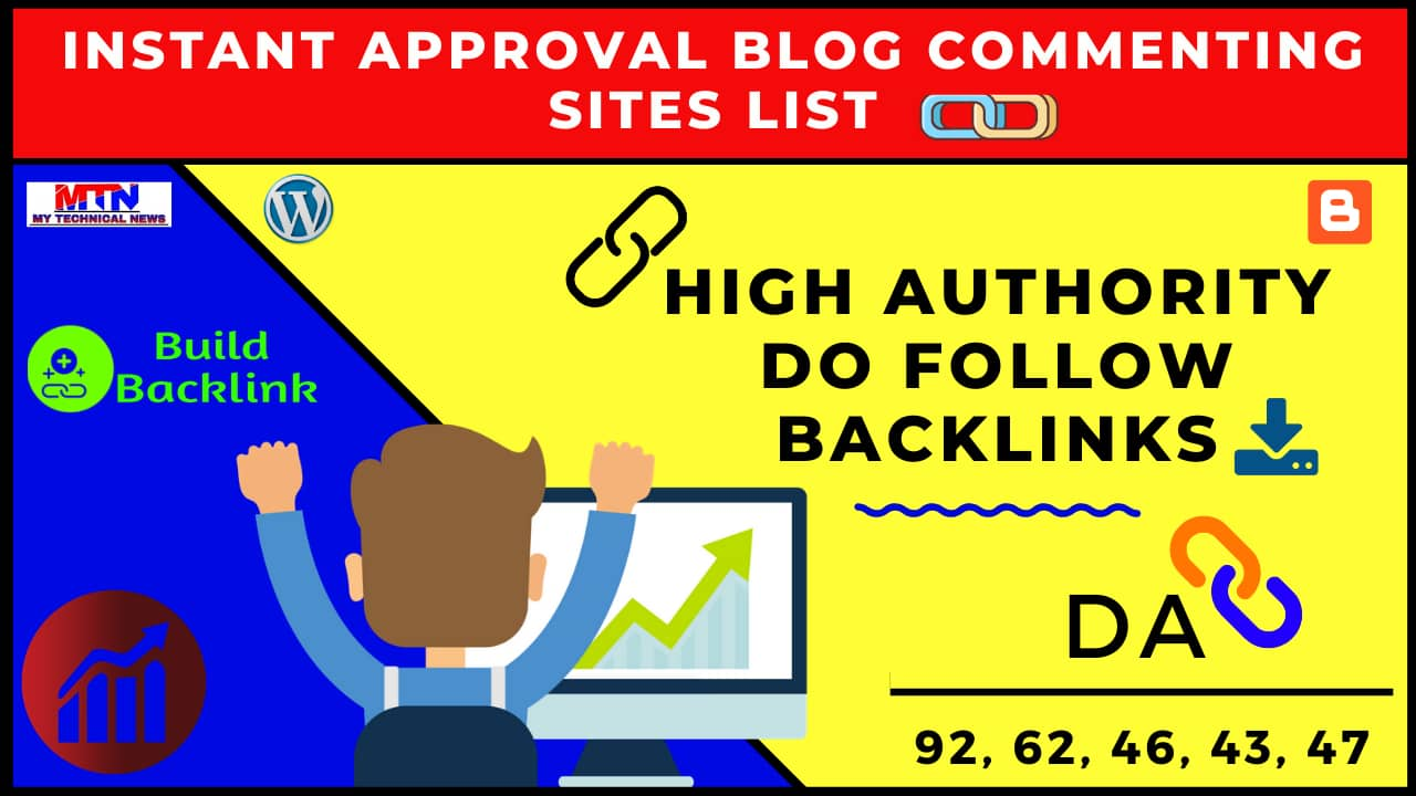 High-Quality Do-Follow Backlinks From High Authority Website Instant Approval