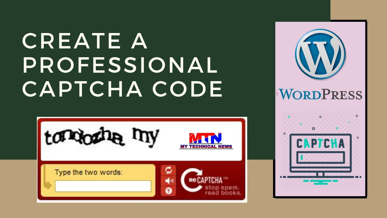 Easy Way To Add Captcha Code To WordPress (Contact Form 7)