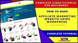 Create An Amazing Amazon Affiliate Website With WordPress | Complete Tutorial For Beginners 2020