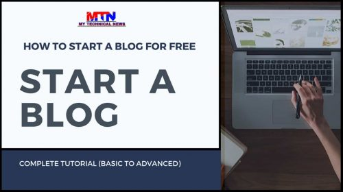How To Start A Blog For Free And Make Money In 2020