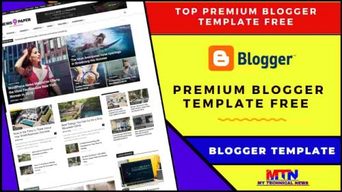 Premium Blogger Template Free (2020 Edition)