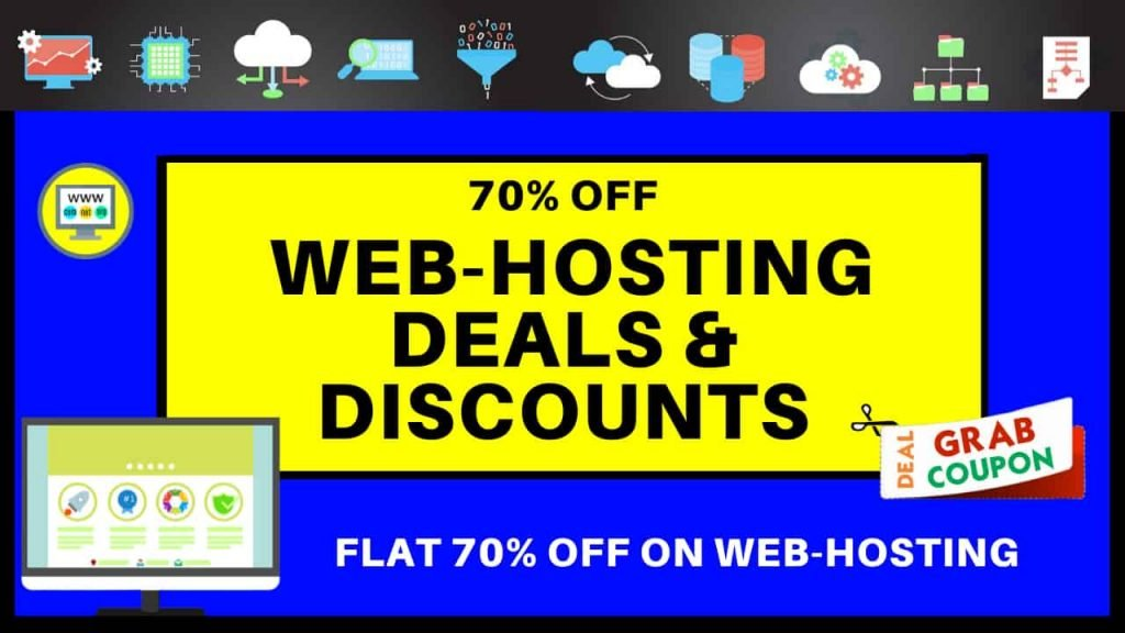 WEB HOSTING COUPONS, OFFERS, DEALS & DISCOUNTS
